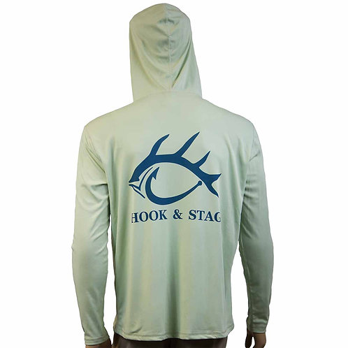 Long Sleeve Fishing Hoodie, Hoodie, Hook and Stag, Hook & Stag, Fishing, Solar Protection, 50+ UPF