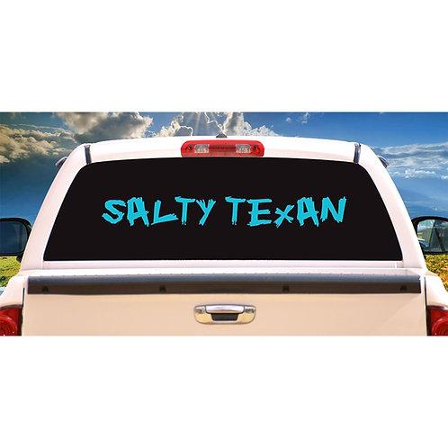"36"" x 4.6"" Salty Texan Decal"