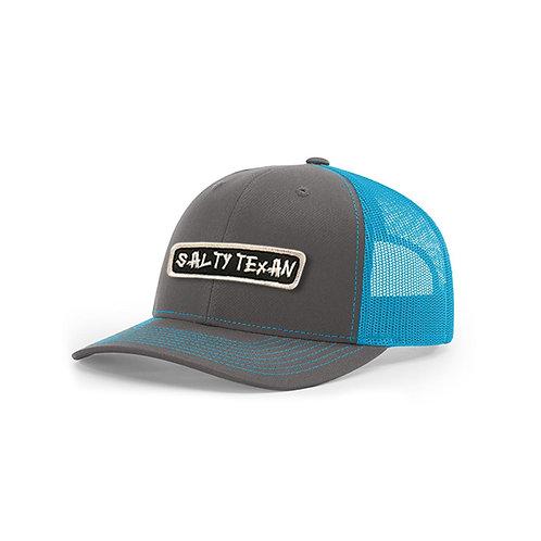 Richardson Cap w/ Salty Texan Rectangle Badge