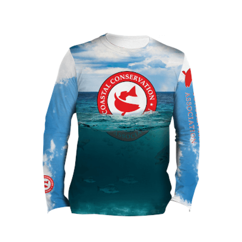 CCA Deep Sea Long Sleeve Performance Tee