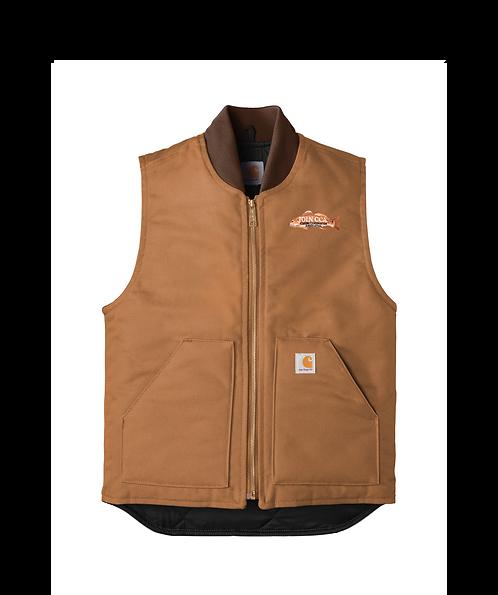 Carhartt Duck Vest w/ Join CCA Redfish Badge