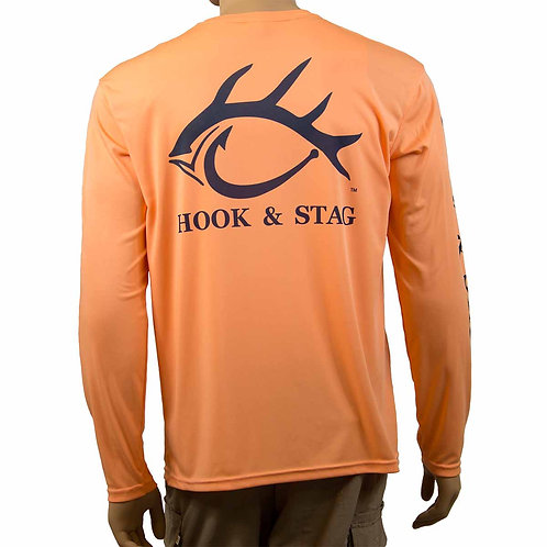 Southern Charm Back, Hook and Stag, Hook & Stag, Fishing Shirt, Citrus, Southern, Bay Fishing, Hunting, Saltwater Fishing