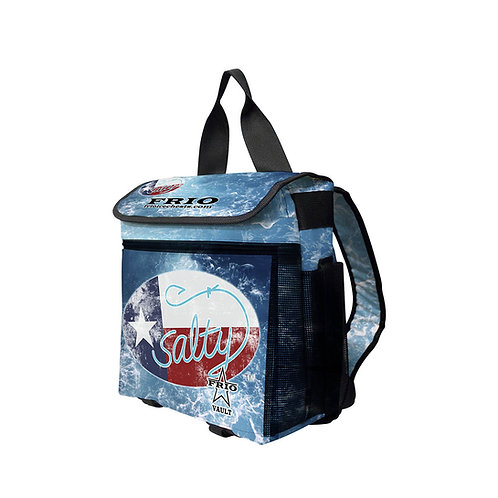 made in texas, softside cooler, salty texan cooler, frio coolers, frio ice chests, made in usa cooler