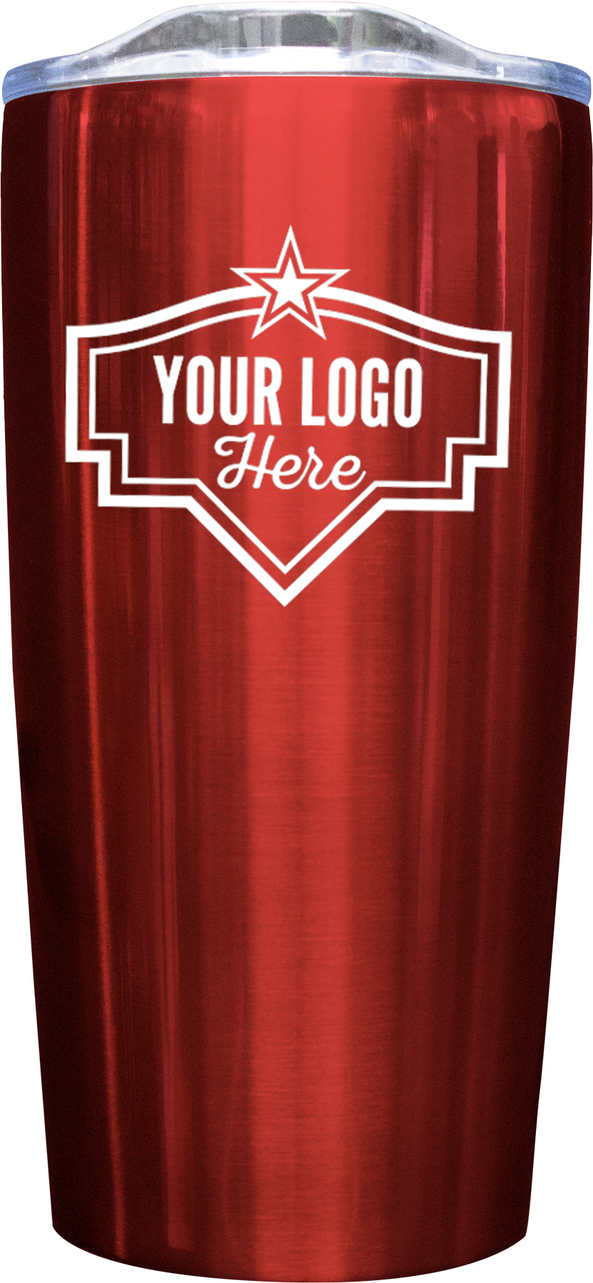 20oz Tumbler Screen Print - Red