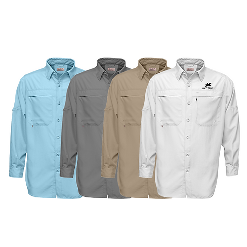 Frio Long Sleeve Performance Fishing Shirt w/ Salty Pelican Logo