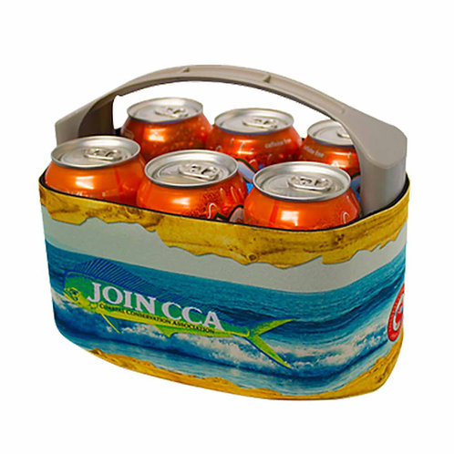 V6carrier, drink holder, can holder, fishing, camping, hunting, beach trips, tailgating, ice pack