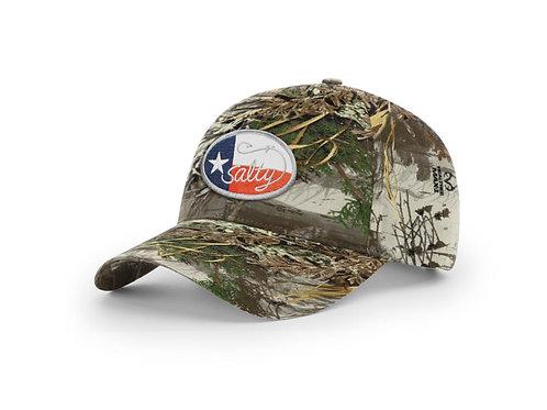 Richardson Real Tree Max Camo Cap w/ Salty Texan Badge