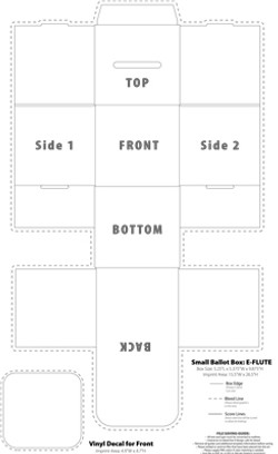 Click to Download Small Box Template
