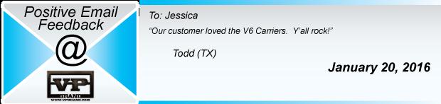 V6 Carrier Testimonial