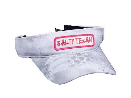 Kryptek Visor w/ Pink Salty Texan Badge