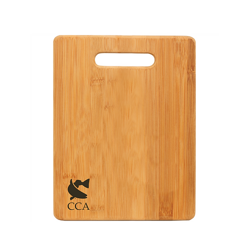 CCA Rectangle Bamboo Cutting Board
