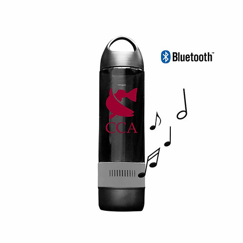 CCA Frio Audio Water Bottle W/ Bluetooth Speaker