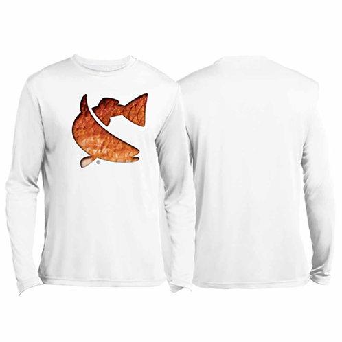 cca, cca texas, sublimated tee, fishing tee, redfish tee, twisted fish tee, long sleeve tee