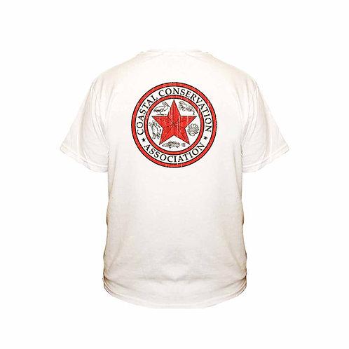 cca, cca texas, fishing tee, cca tee, cca tshirt, coastal conservation tee, distressed fishing tee