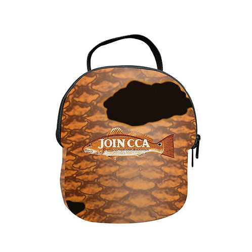 Frio Lunch Kit Redfish Scales w/ Join CCA Logo