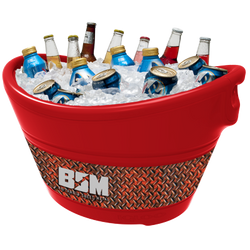 Party Bucket - Inferno Red