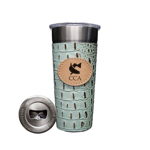 tumbler, cca, cca texas, texas, tx, drinkware, beverage, cup, fishing, hunting, redfish, coastal conservation association