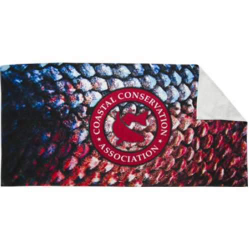 cca, cca texas, cca beach towel, cca towel, join cca towel, beach towel, cca sublimated towel