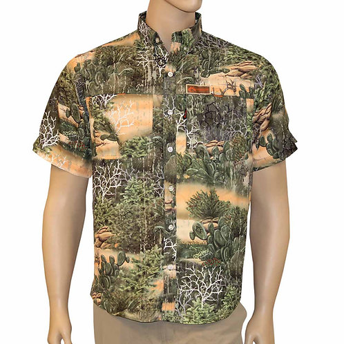 Hook and Stag, Hook & Stag Camo, Button Down, Fishing, hunting, performance apparel, texas, texas camo, camouflage
