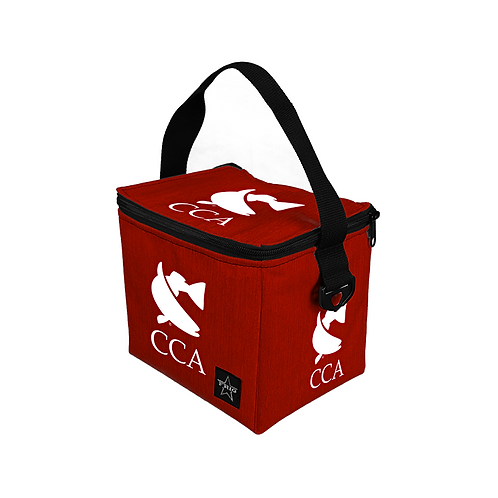CCA 6 Can Lunch Bag - Red