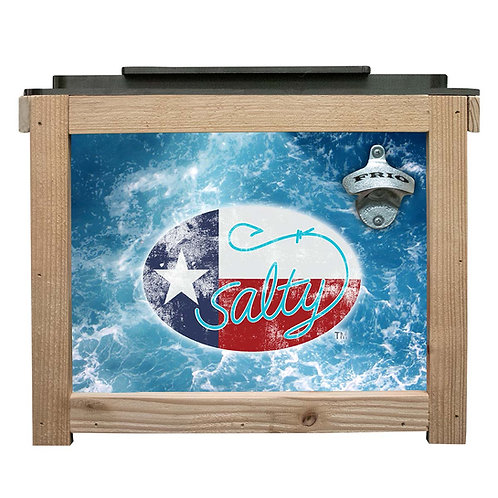Frio 24 Can Cedar Cooler - Saltwater Edition
