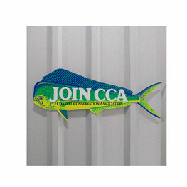 CCA Dorado Aluminum Sign