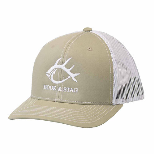 Classic Cap, Hook And Stag, Hook & Stag, Fishing, Hunting, Cap, Hat, Outdoors,