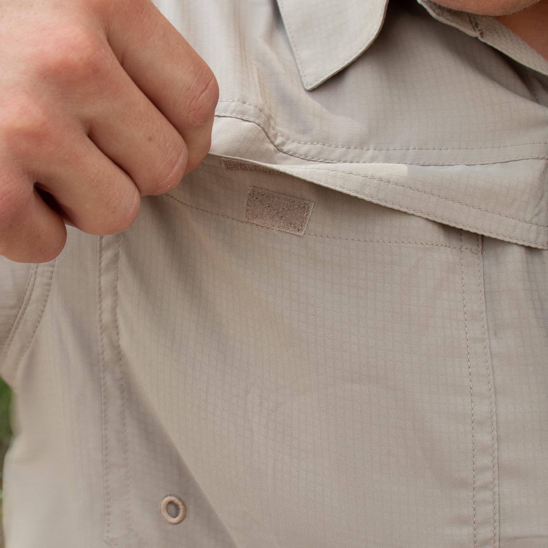 2 Velcro Pockets