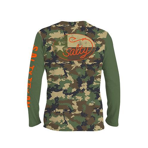 Salty Texan Camo Long Sleeve Shirt