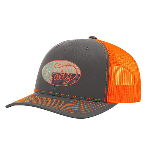 Richardson Cap w/ Salty Texan Camo Oval Badge