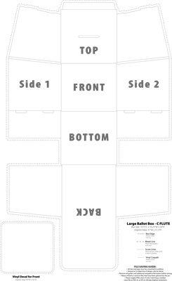Click to Download Large Box Template