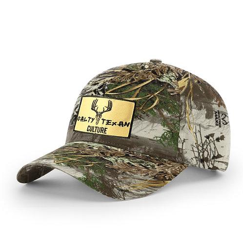 Richardson Real Tree Max Camo Cap w/ Salty Texan Culture Badge