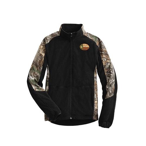 salty texan jacket, real tree camo jacket, camo, salty texan camo, fishing jacet