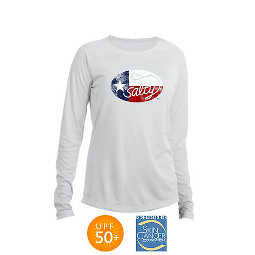 Salty Texan Ladies Solar Long Sleeve Shirt