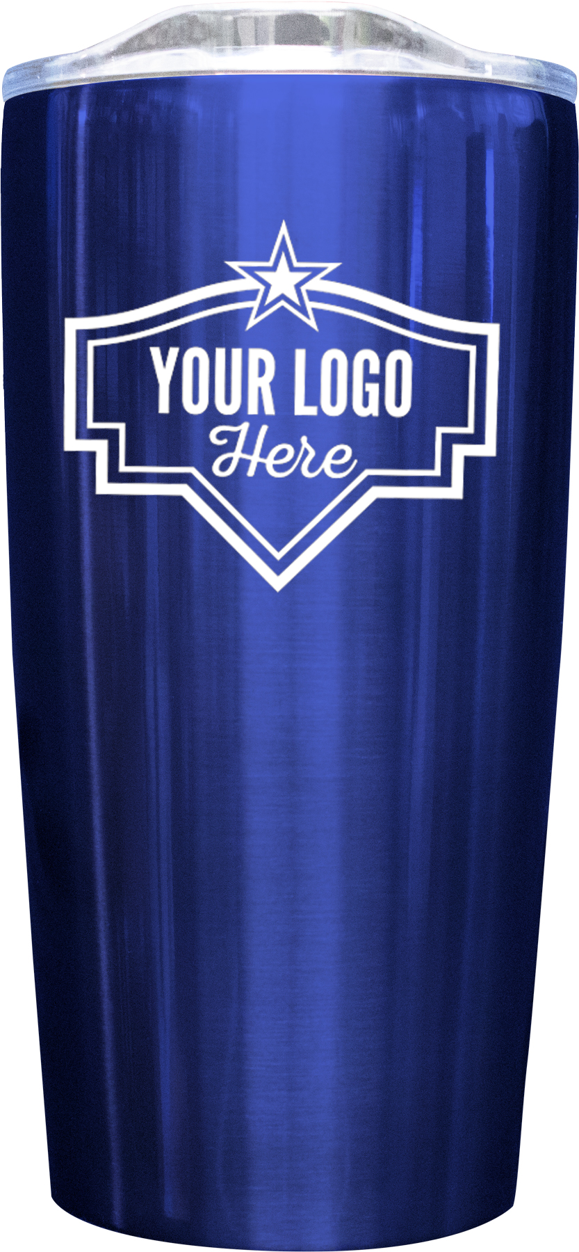 20oz Tumbler Screen Print - Blue