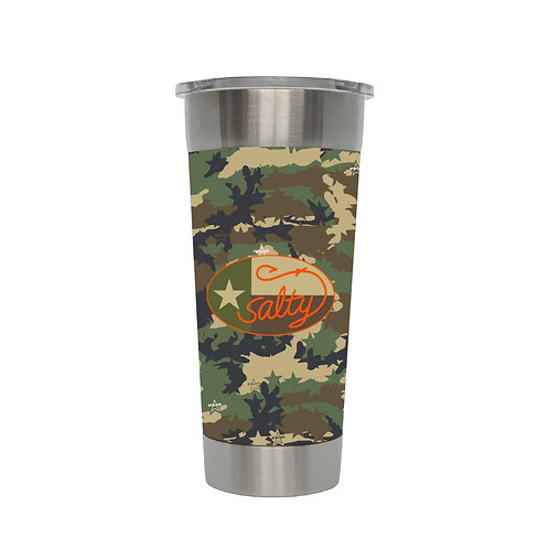 Stainless 24oz W/ Texas Frio Camo Wrap