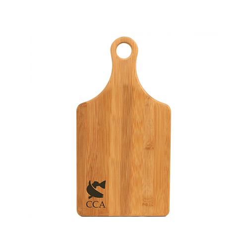 CCA Paddle Shaped Bamboo Cutting Board