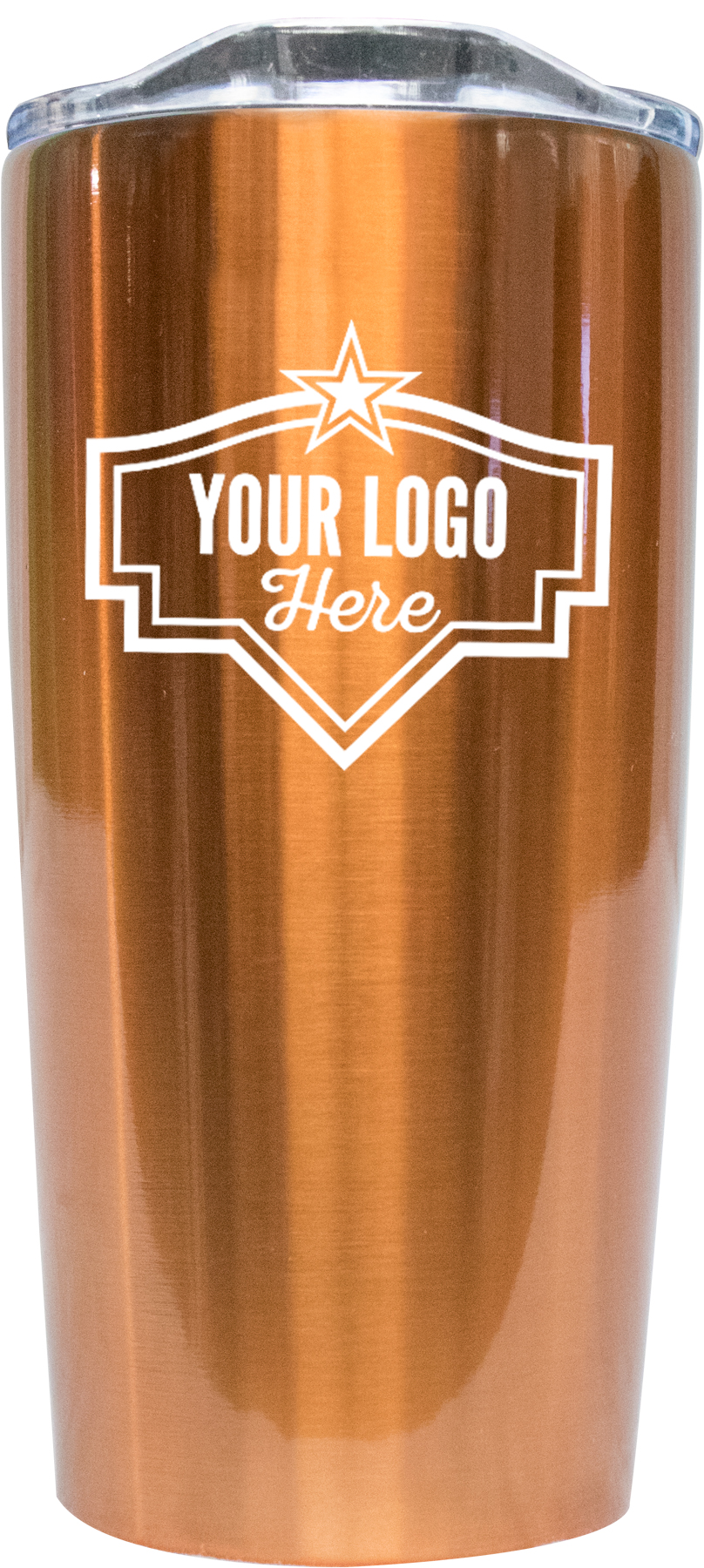 20oz Tumbler Screen Print - Copper