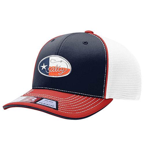 Richardson Pulse Sportmesh Cap w/ Salty Texan Oval Badge