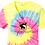 Thumbnail: CCA Ladies Tie-Dye V-Neck Tee