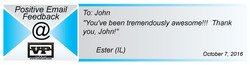 Thank you, John!