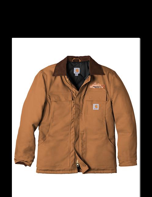 Carharrt Duck Traditional Coat w/ CCA Badge