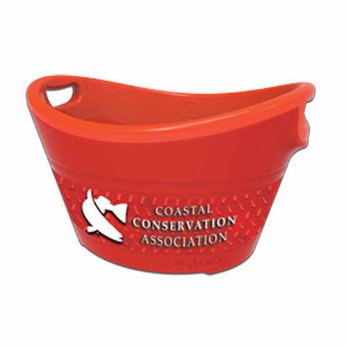party bucket, cca, cca texas, cca bucket, party, drink holder,