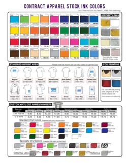 Click to Download Ink Colors Sheet