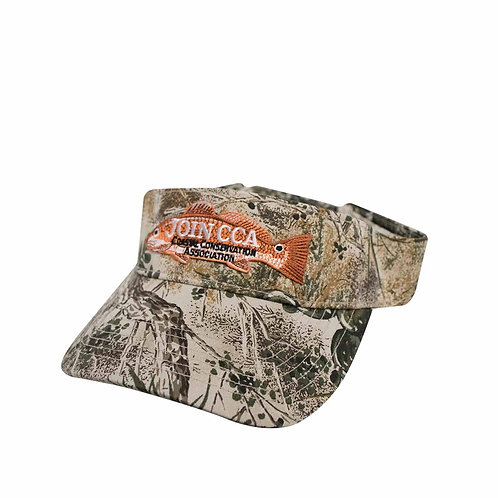 CCA GameGuard Visor with Redfish Patch