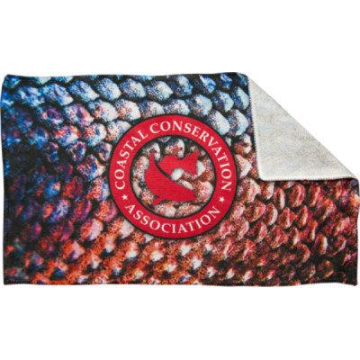cca, cca texas, cca towel, rally towel, redfish towel, fish scales towel, sublimated towel