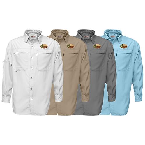 Frio Long Sleeve Performance Fishing Shirt w/ Salty Texan Camo Logo