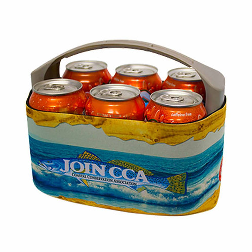 v6carrier, fishing, camping, beach trips, drink holder, can holder, tailgating, ice pack, hunting
