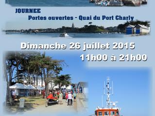 rendez-vous à port-Charly le 26/07/15  au profit de la SNSM du Croisic