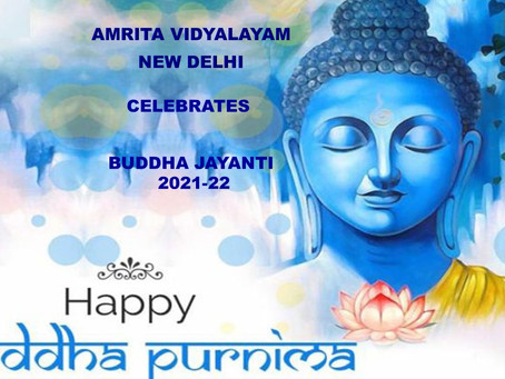 #Amrita_Vidyalayam_Celebrates_Buddha Jayanti 2021